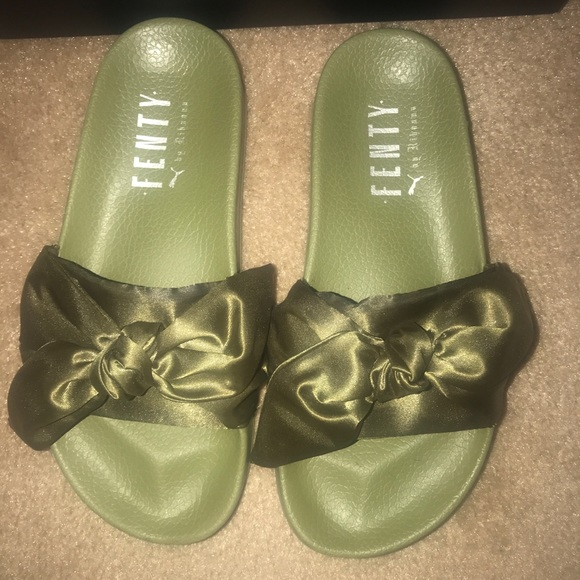b602d64d84f7 Fenty (Puma) by Rihanna Shoes - Fenty (Puma) by Rihanna Bow Slides